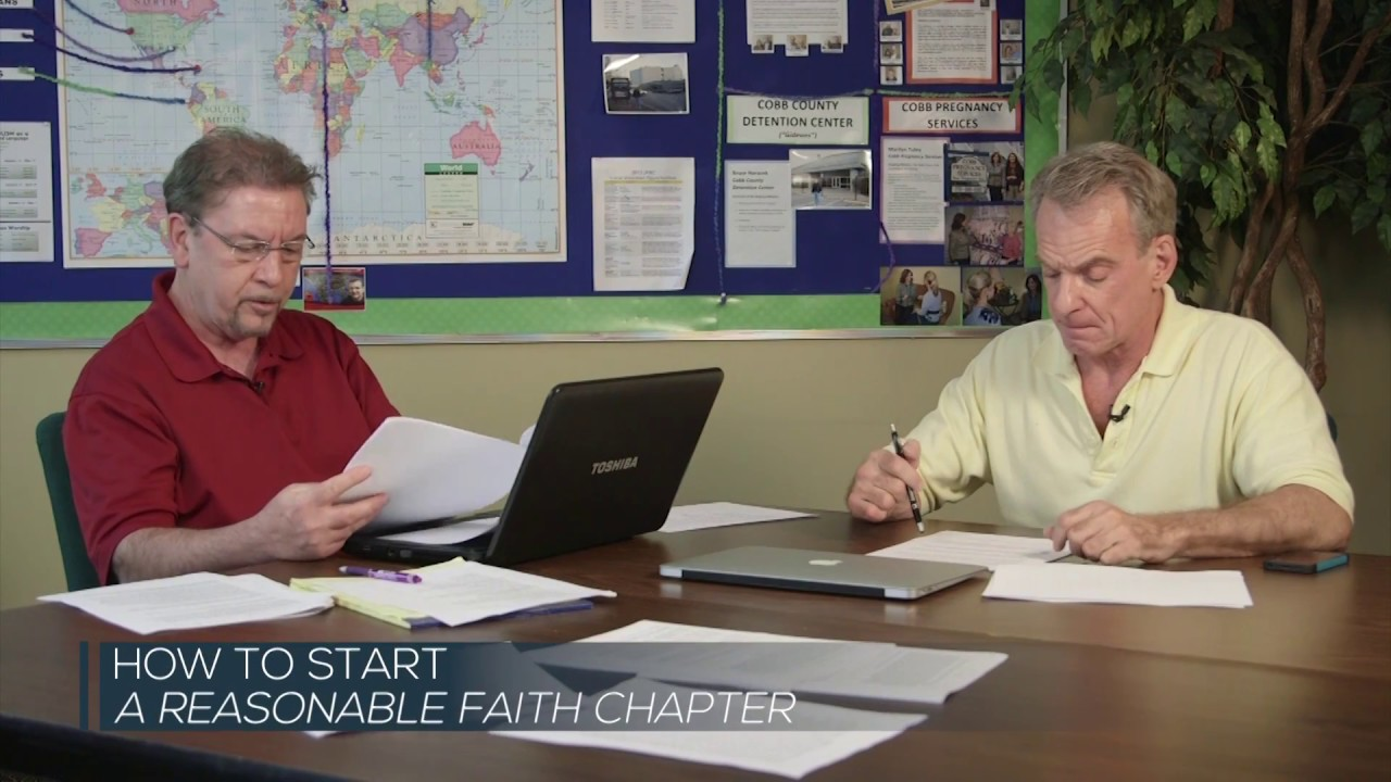 How to Start a Reasonable Faith Chapter