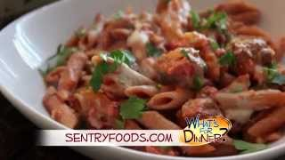 What's For Dinner? - Baked Penne With Italian Sausage
