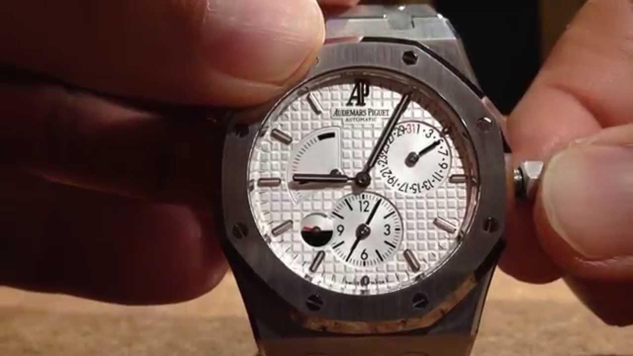 Audemars Piguet Royal Oak Dual Time