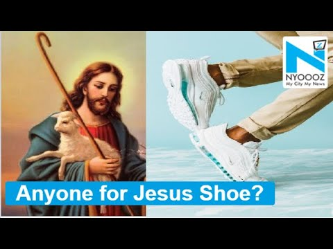 Craig Stevens - Jesus Shoes' filled with holy water sell out within minutes