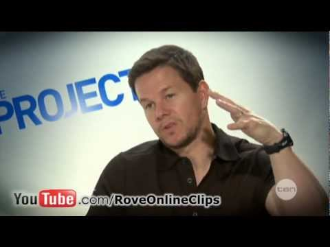 Ted movie cast interview on The Project (2012) - Mark Wahlberg, Mila Kunis & Seth MacFarlane