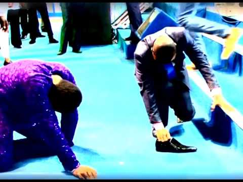 BRO JOSHUA IGINLA SHOE POWER DEMONSTRATION