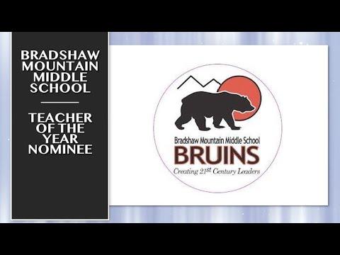 2019-2020 HUSD Teacher of the Year Nominee: Bradshaw Mountain Middle School
