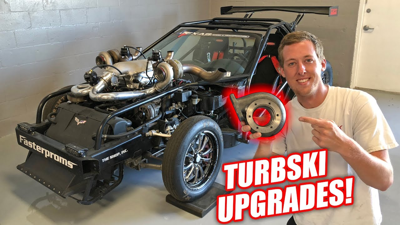 Changing Up Leroy's Turbos! *Twin Turbski Alert*