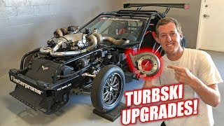 Changing Up Leroy's Turbos! *Twin Turbski Alert* thumbnail