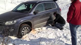 Ford Kuga & Volkswagen Tiguan(Зимние покатушки по лёгкому бездорожью., 2012-03-13T19:35:52.000Z)