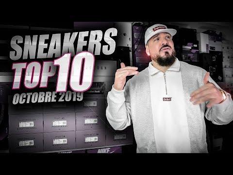 """LES PLUS BELLES SNEAKERS DU MOIS D'OCTOBRE """"TOP 10"""" 🔝"""