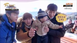 Download Video [ENG SUB CUT] Super Junior & Baby MP3 3GP MP4