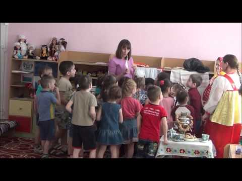 НОД Русская ярмарка старшая группа