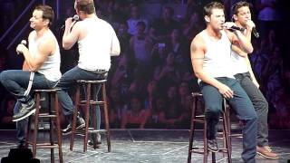 """98 Degrees Performing """"I Do (Cherish You)"""" live in San Jose California on Friday July 12, 2013"""