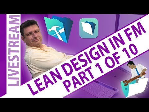 Lean Design in FileMaker - Part One