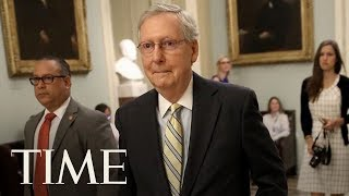 Mitch McConnell Defends Reworked Health Care Bill, Ted Cruz Demands Low-Cost Health Care | TIME thumbnail