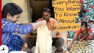 What Is Original Kalamkari,Where To Buy Traditional Kalamkari Sarees | Arpitharai