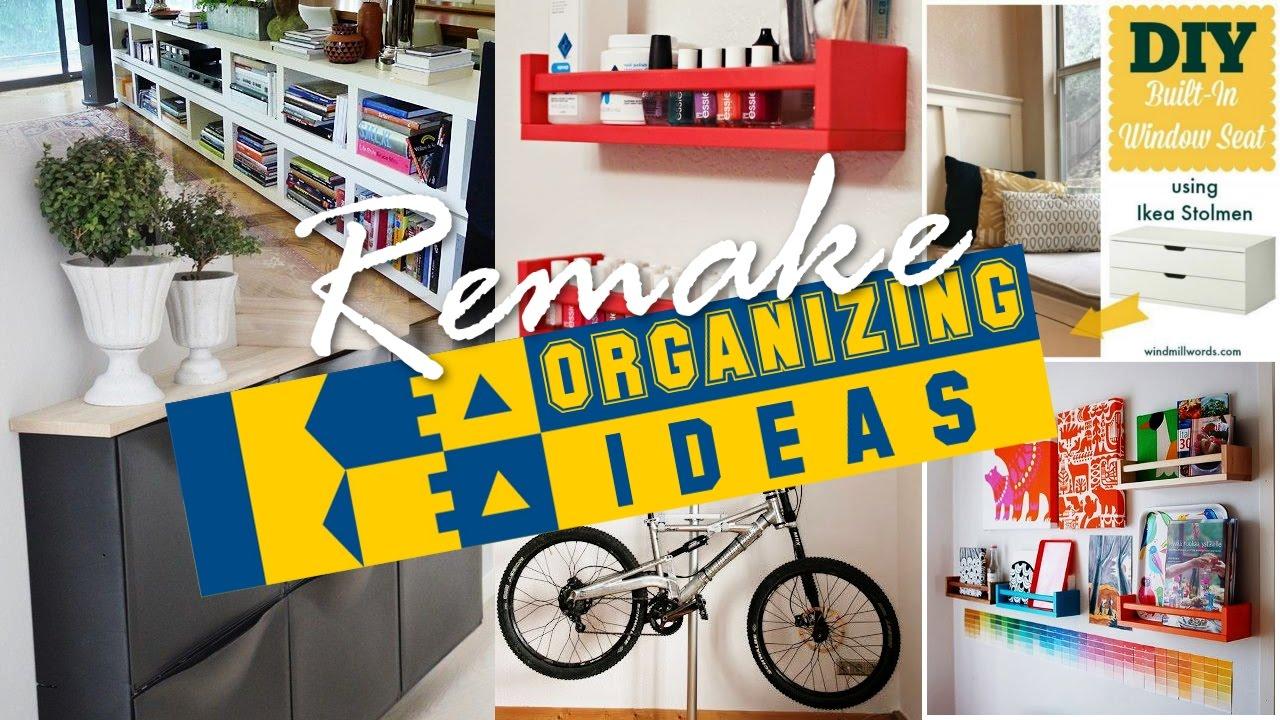 37 IKEA organization ideas (Remake) - YouTube