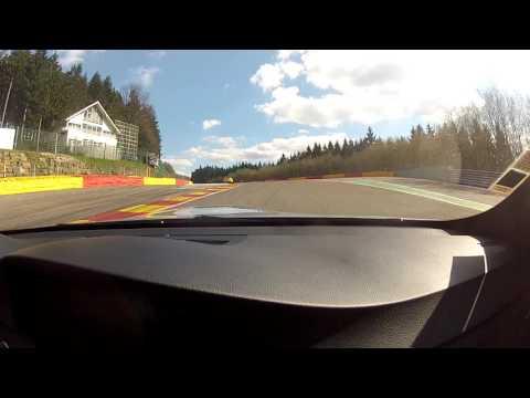 BMW M3 E92 following Corvette C6 Z06 / Spa Francorchamps / WCS 2016