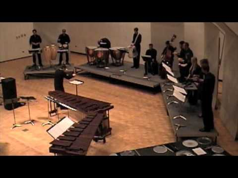 Amadeo Roldán Ritmicas Number 5 & 6 performed by Iowa Percussion