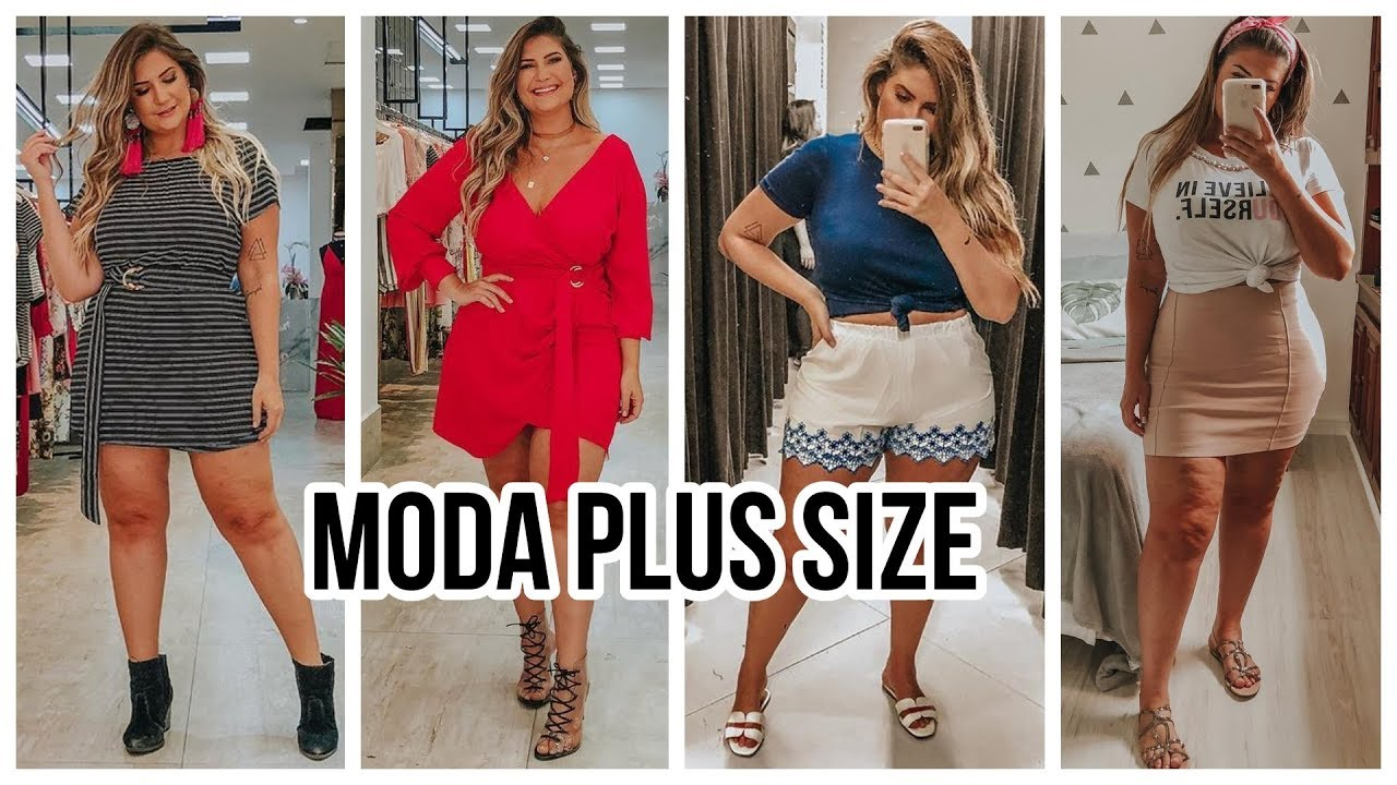 [VIDEO] - ROPA PARA GORDITAS | OUTFITS CASUALES 2019 | Moda Plus Size 5