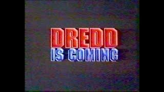 Экранка на VHS. Редкий трейлер фильма Судья Дредд. Трейлеры с переводом.