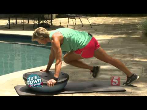 Carrie Underwood's Trainer Shows Us Great Workout For Abs