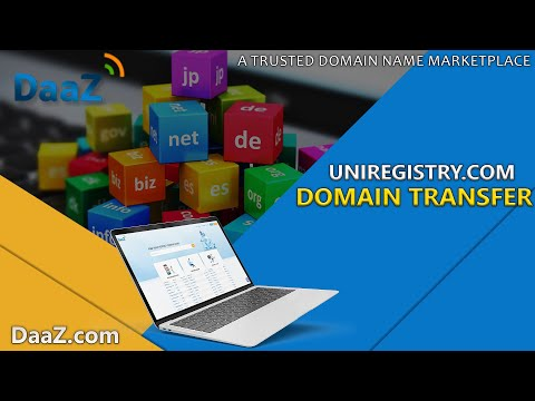 How to transfer domain name at Uniregistry?