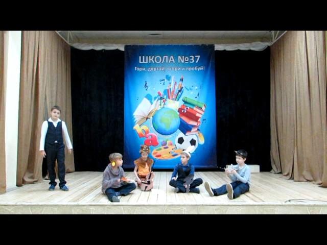 Изображение предпросмотра прочтения – «Творческая группа 4-б» читает произведение «Квартет» И.А.Крылова