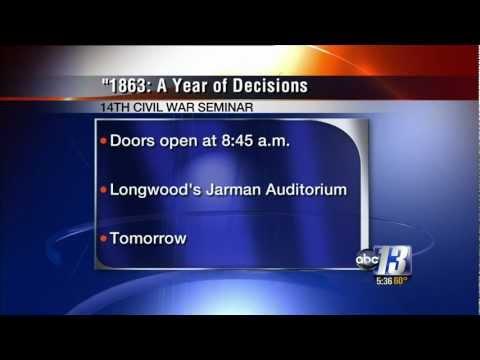 14th Annual Civil War Seminar 1863: A Year of Decisions