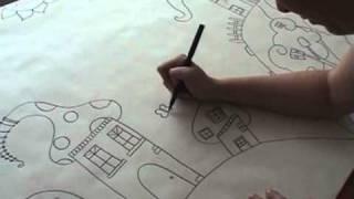 Desenhar um Reino Encantado / Drawing a Magic Kingdom