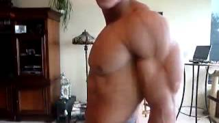 Muscle Building   Nothing more to be said than perfect shape perfect flexing perfect pec bounce perf