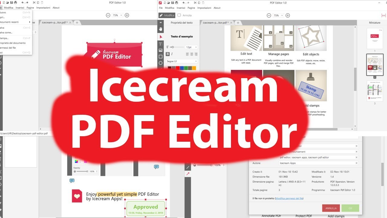 Resultado de imagen para Icecream PDF Editor PRO