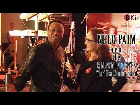 NELO PAIM interview before live concert of YURI DA CUNHA
