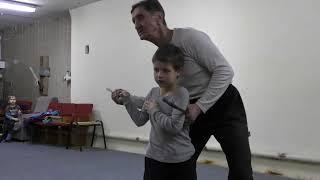 Арнис Эскрима Кали - тренировка в детской группе 25.02.18