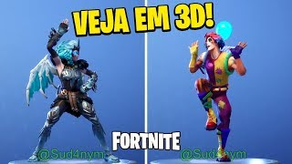 FORTNITE-NEW 3D SKINS-SEE BEFORE YOU BUY | BATTLE ROYALE