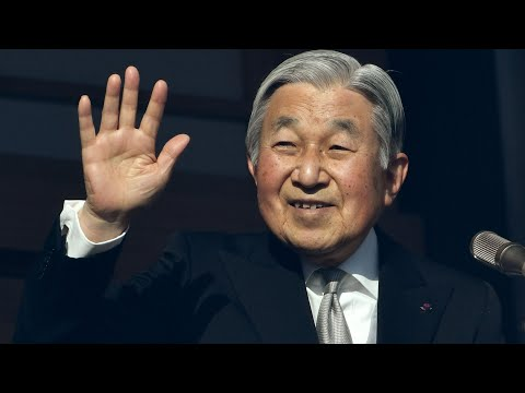Emperor Akihito to step down in spring 2019