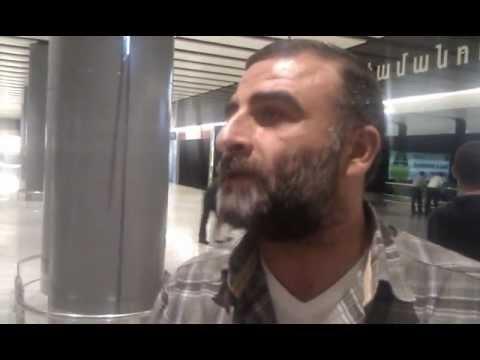 Armenian Repatriate From Syria In Yerevan Ariport Zvartnots