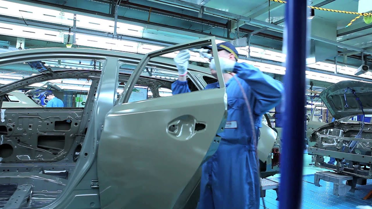 Vehicle Paint Manufacturers Factory To Forecourt Paint Shop