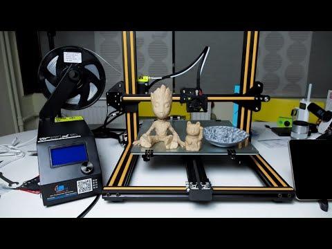 Ο πρώτος μου 3D Printer! Creality CR 10 Unboxing & Review [Greek]