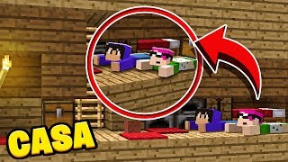 MENOR CASA DO MINECRAFT! * 1 bloco de altura 😲 *