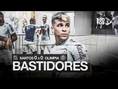 SANTOS 0 X 0 OLIMPIA   BASTIDORES   CONMEBOL LIBERTADORES (15/09/20)