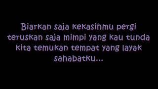 Audy-untuk sahabat (lirik)