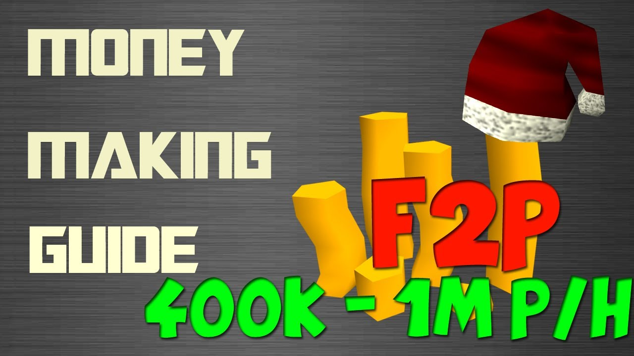 Runescape 3 {free to play} money making guide | wine of zamorak.