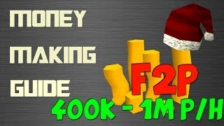 RuneScape 3 F2P EoC Money Making Guide 400k - 1m + per hour 2014 Commentary