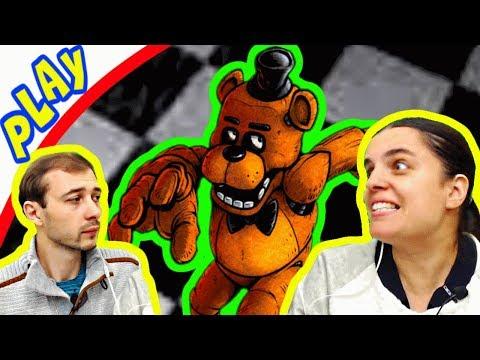 БолтушкА и ПРоХоДиМеЦ Встретились с Мишкой ФРЕДДИ! #167 - игра 5 ночей с Фредди