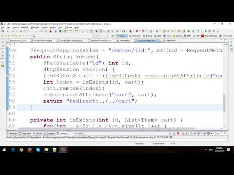 Building Shopping Cart in Spring Boot and JPA - Part 2