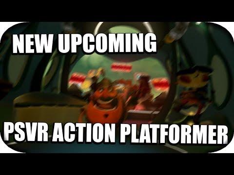 PSVR - New Upcoming Action Platformer VR Game! (Psychonauts 2 PSVR)
