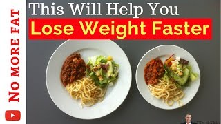 🍽️ Faster Weight Loss With One Simple Change - No diets, exercises or pills
