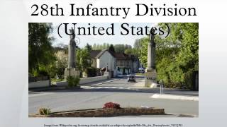 28th infantry division united states