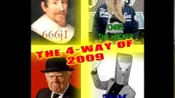 The 4 Way of 2009 - [Chris The Hacker]; [666j1]; [Tom]; [CootPrankCalls] (PART 2)