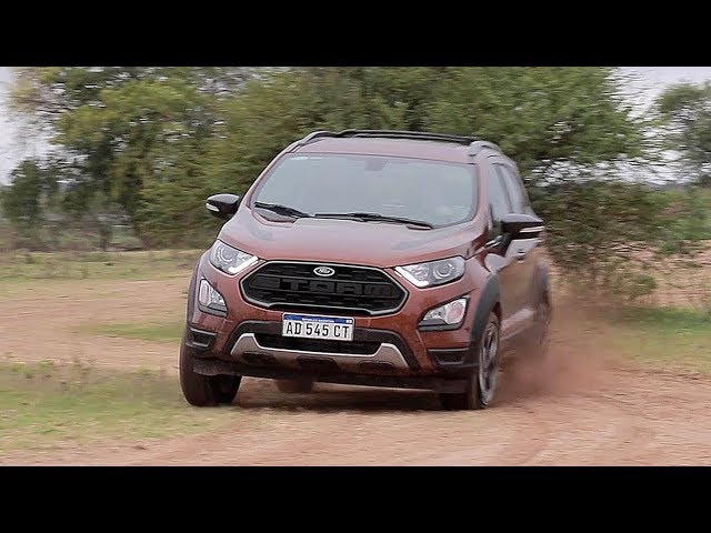 Ford EcoSport Storm 4x4 - Test - Matías Antico - TN Autos