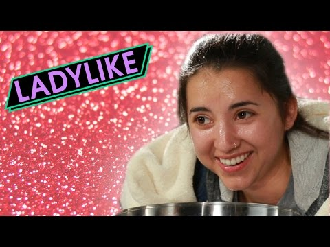 Women Try 1950s Beauty Trends • Ladylike