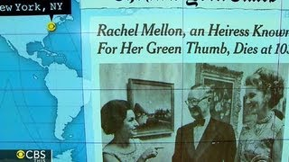 "Headlines at 8:30: Listerine heiress Rachel ""Bunny"" Melon dies at 103"